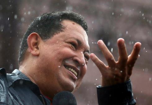 Chávez lluvia
